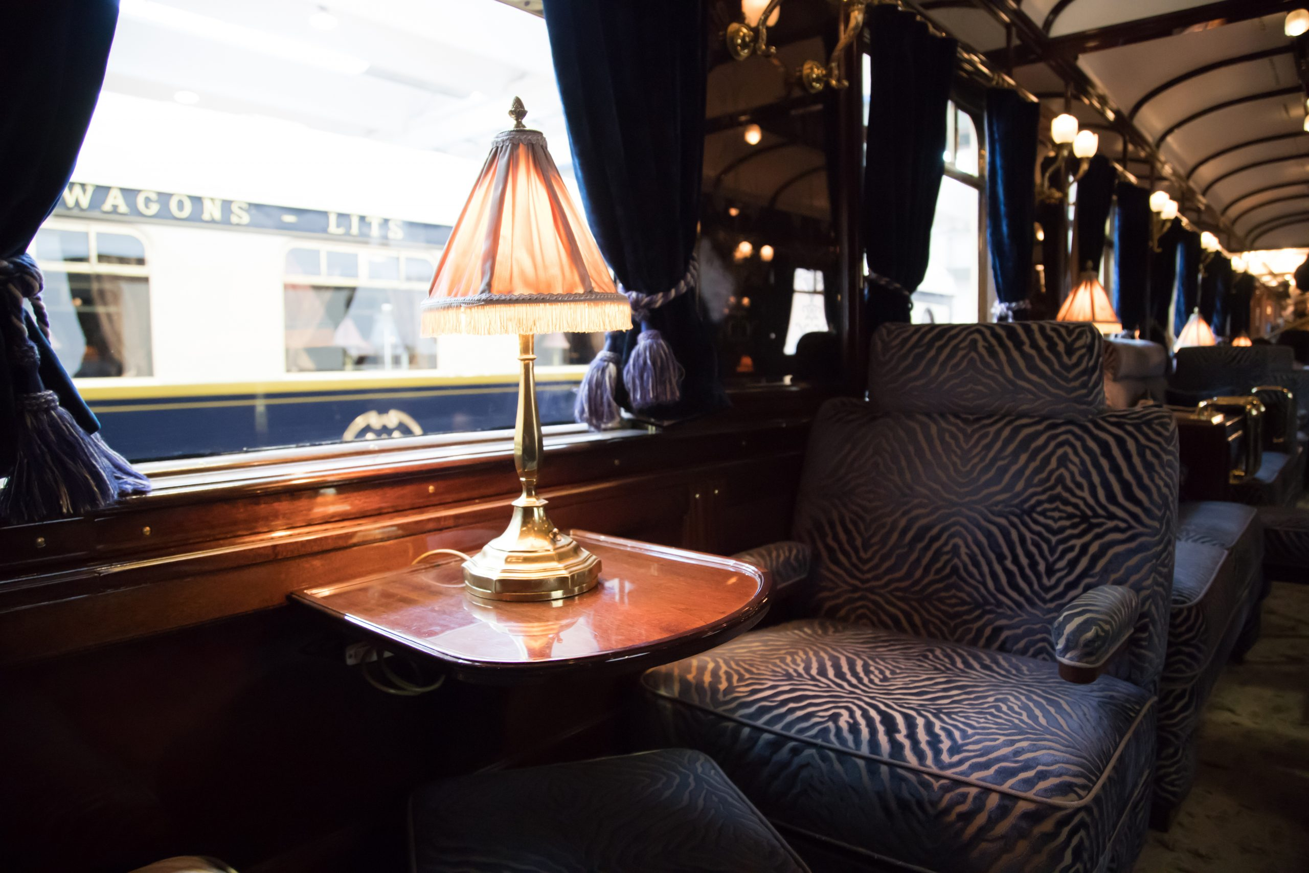 Live happy on the orient express